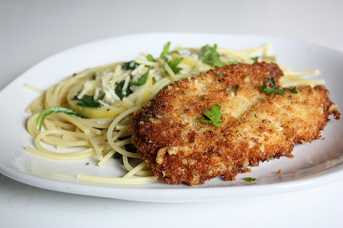 parmesan crusted chicken photo